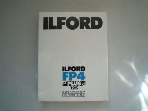 ILFORD FP4 PLUS 125 4X5IN 25 SHEETS BLACK & WHITE FILM